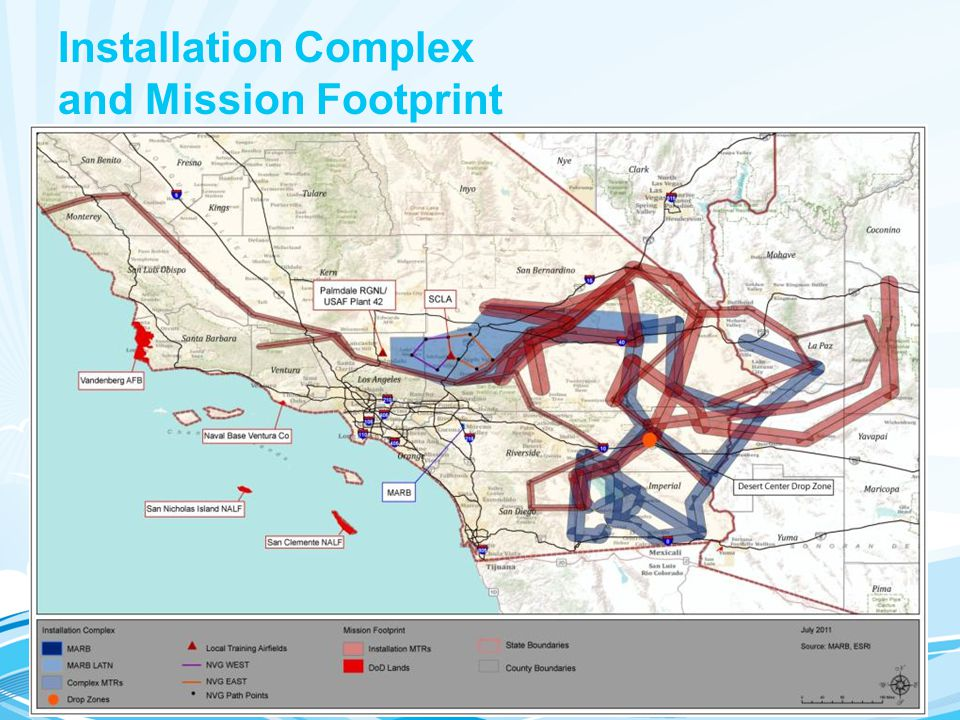 Installation Complex and Mission Footprint