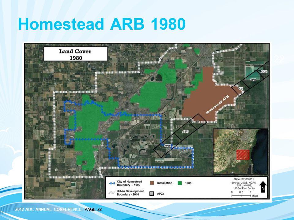 Homestead ARB 1980