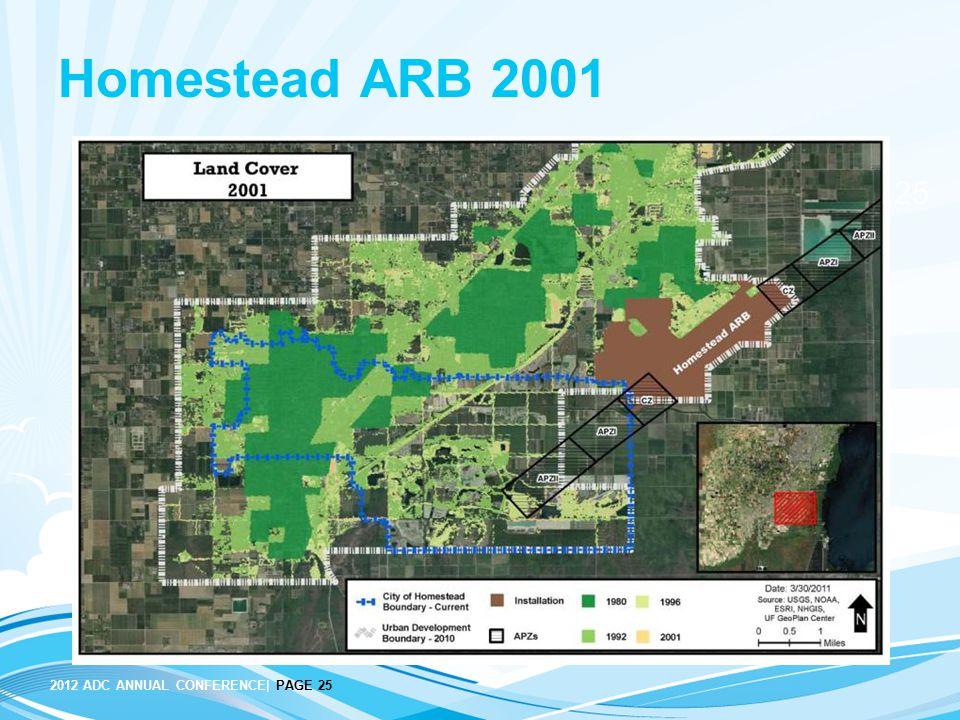 Homestead ARB 2001