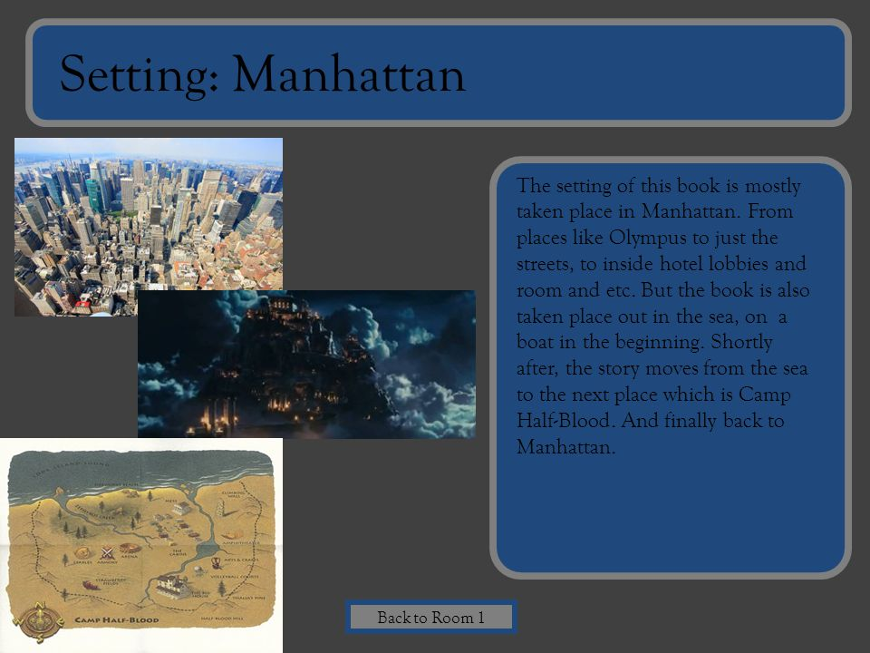 Setting: Manhattan