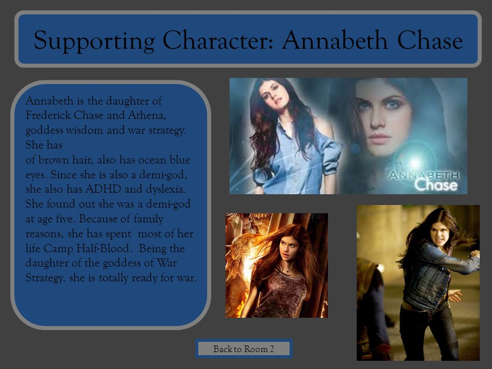 Supporting Character: Annabeth Chase