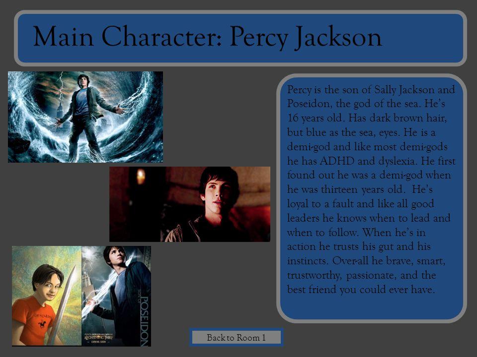Main Character: Percy Jackson