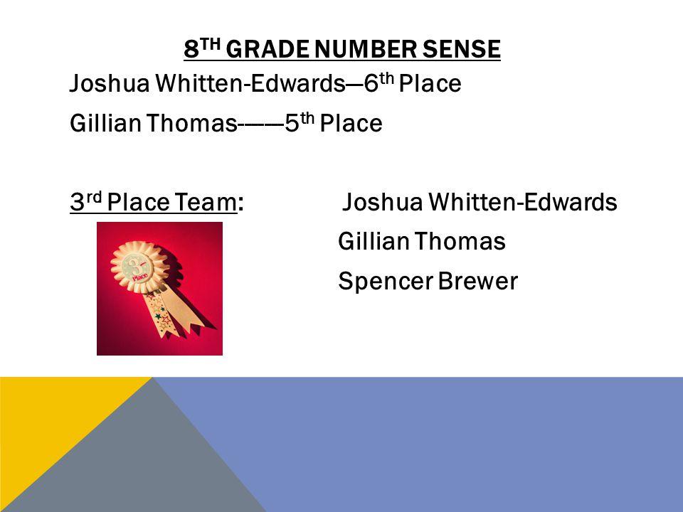 8th grade number sense