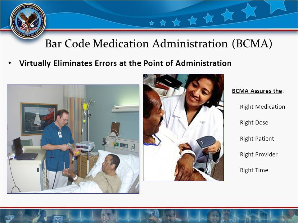 Bar Code Medication Administration (BCMA)