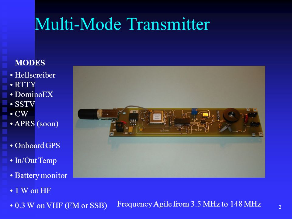 Multi-Mode Transmitter