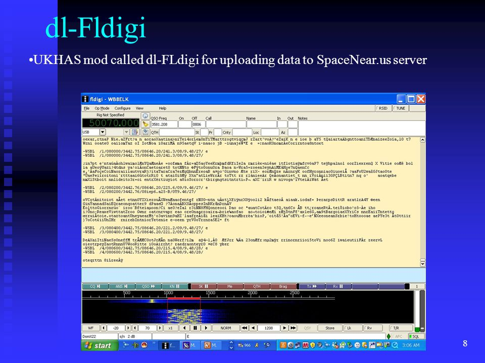 dl-Fldigi UKHAS mod called dl-FLdigi for uploading data to SpaceNear.us server