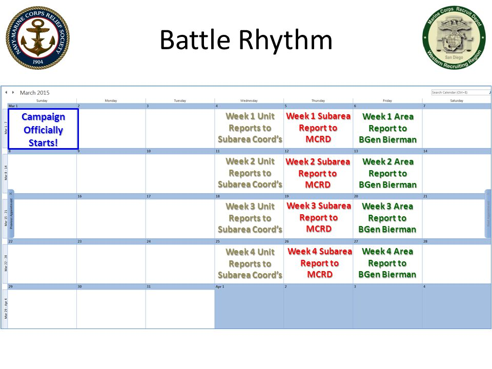 Battle Rhythm Campaign Officially Starts!