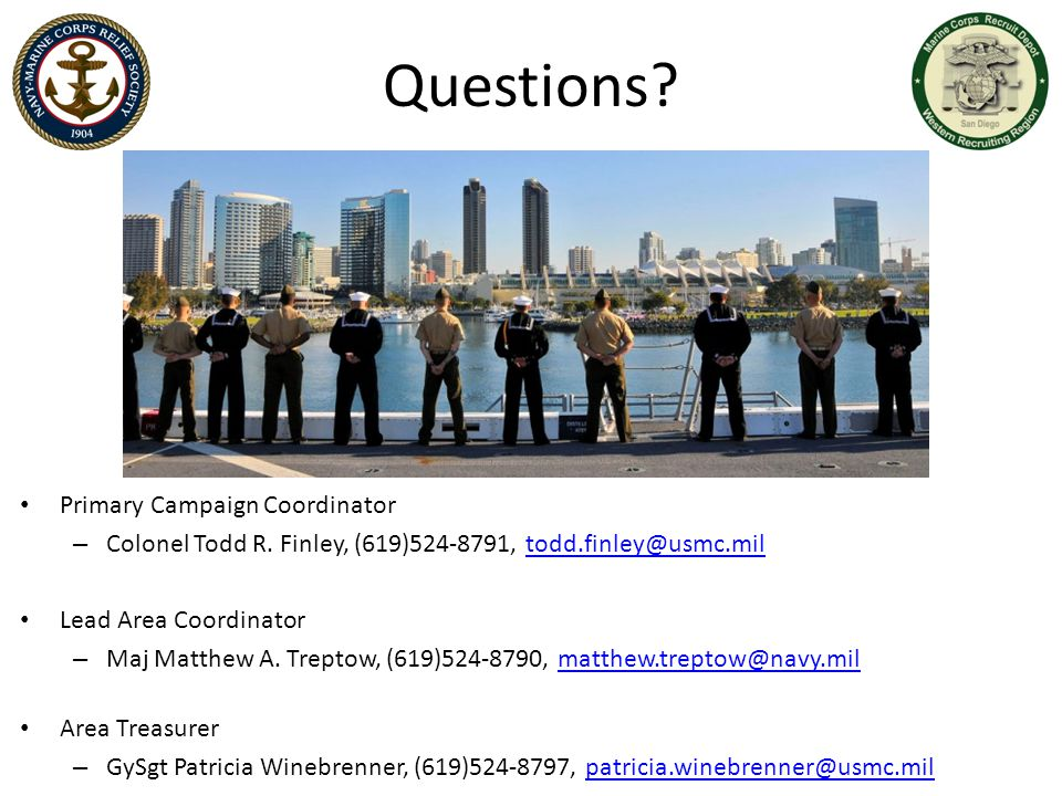 Questions Primary Campaign Coordinator