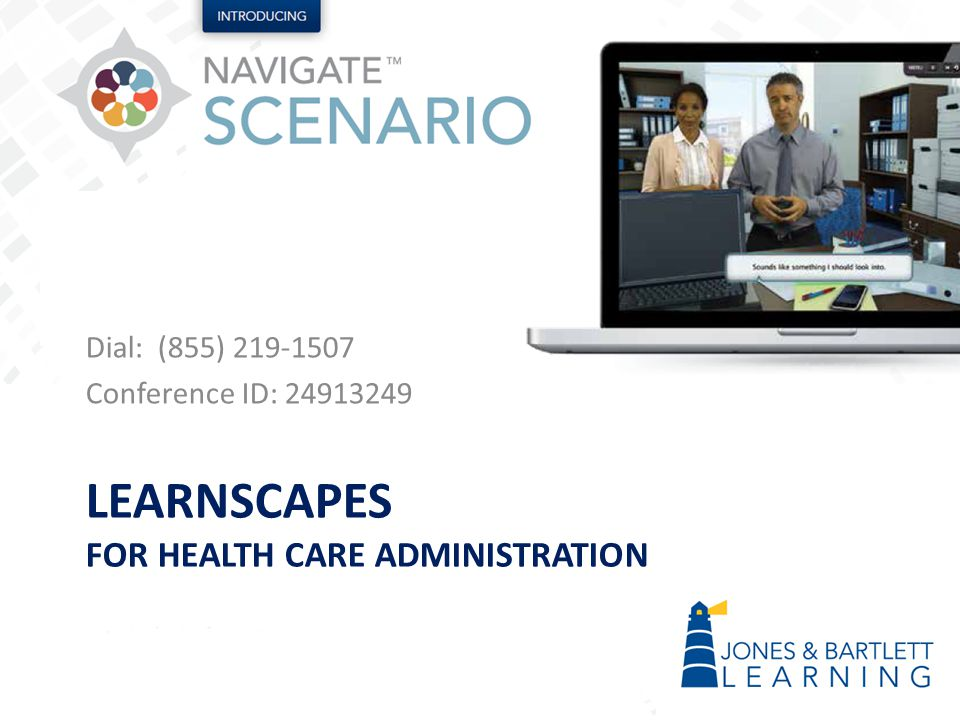 Learnscapes for health care Administration
