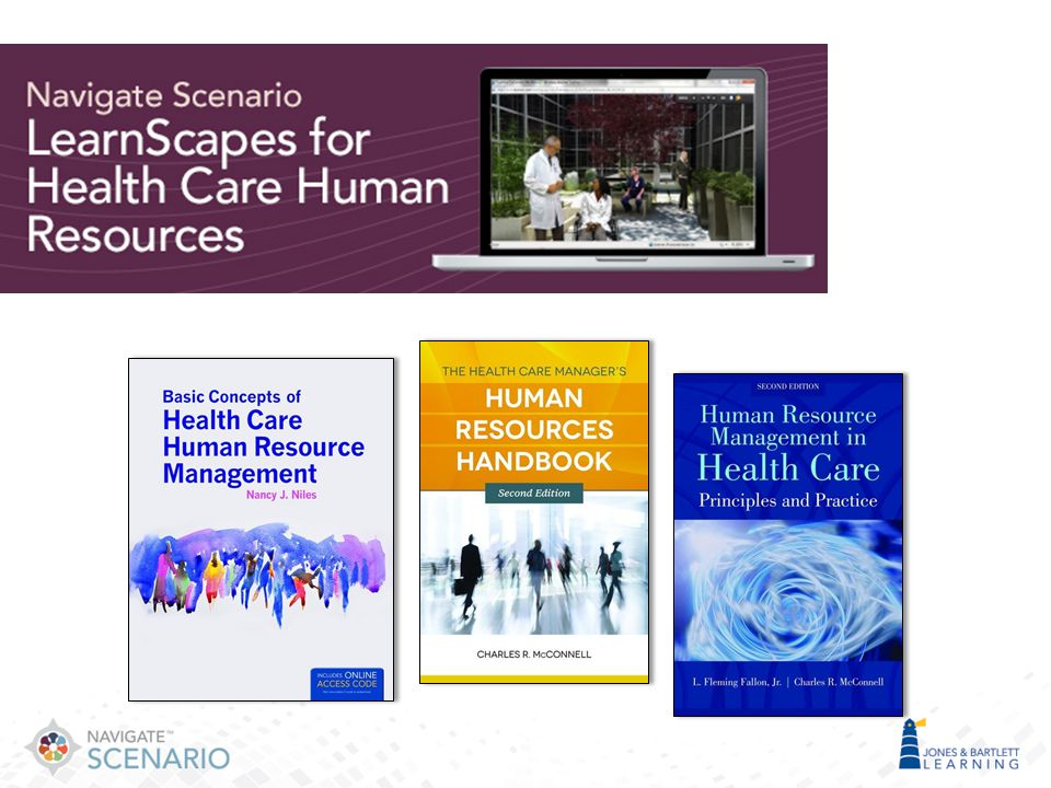 And finally, for Human Resources, we have 3 very new titles from Niles, McConnell, and Fallon.