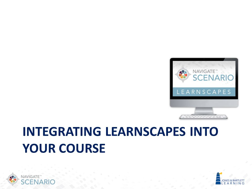 Integrating Learnscapes into your course