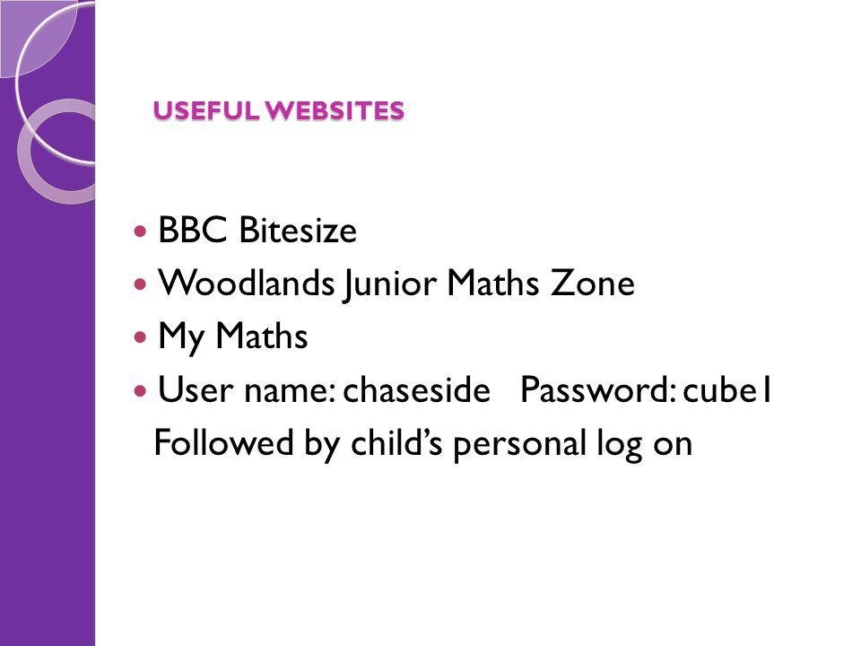 Woodlands Junior Maths Zone My Maths