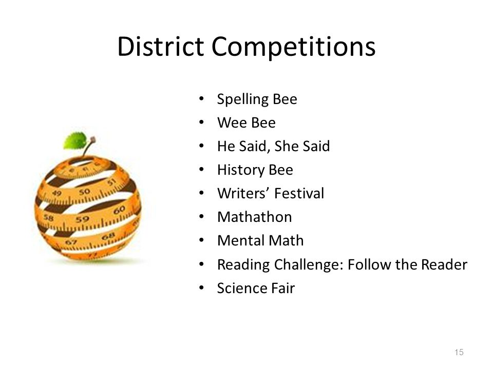 District Competitions