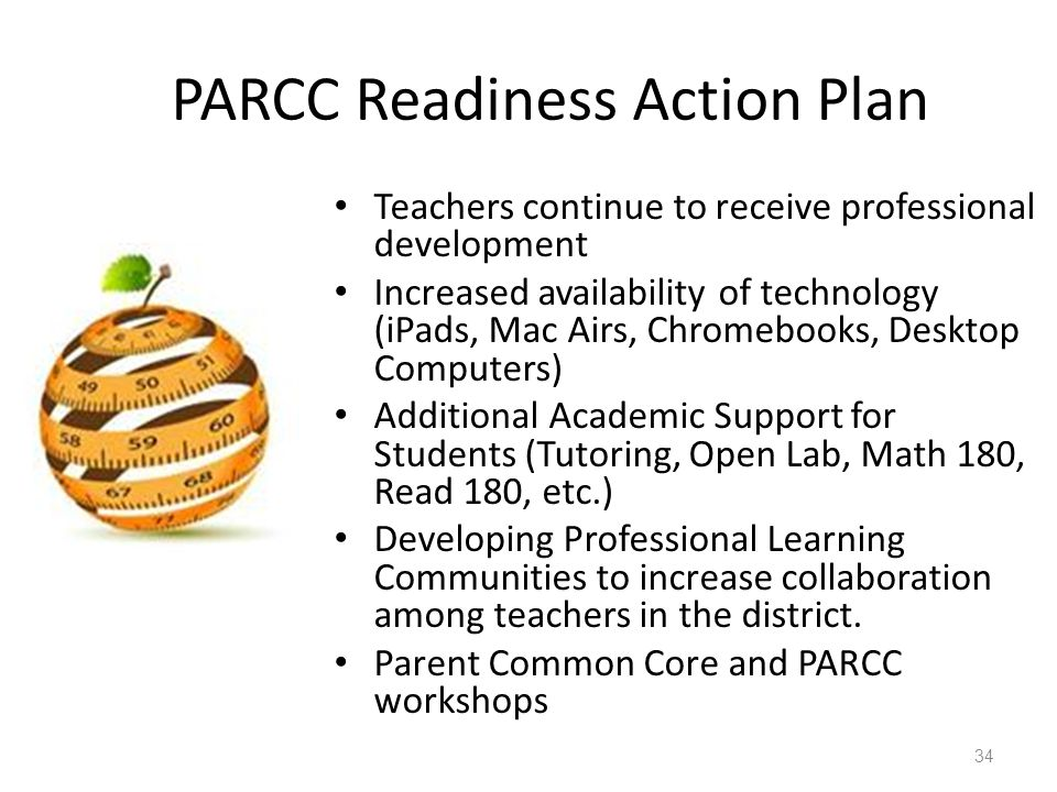 PARCC Readiness Action Plan