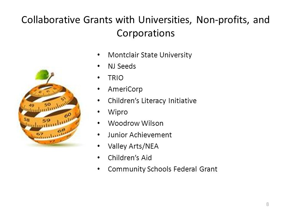 Collaborative Grants with Universities, Non-profits, and Corporations