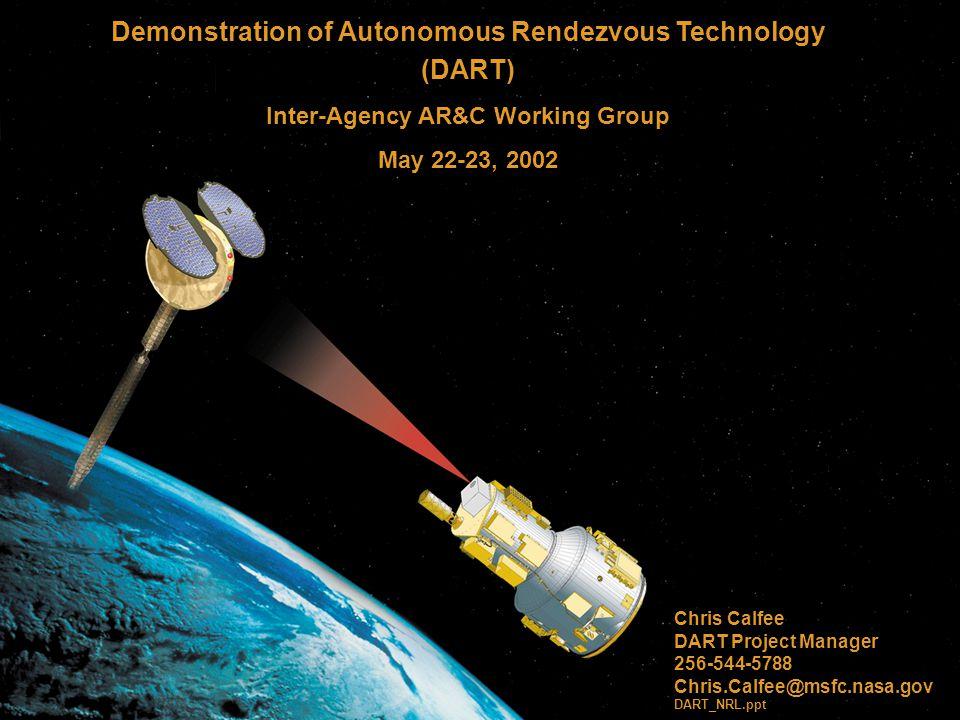 Demonstration of Autonomous Rendezvous Technology (DART)