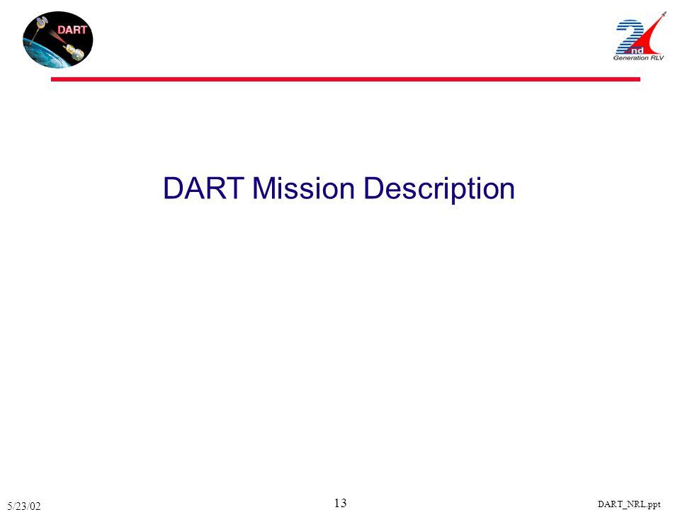DART Mission Description