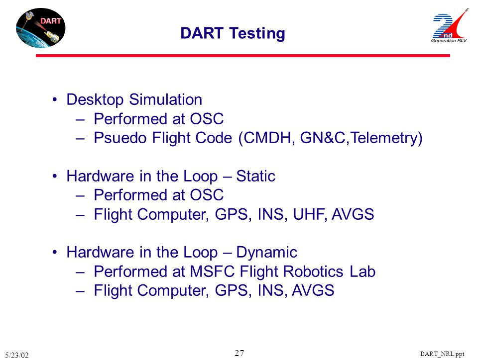 Psuedo Flight Code (CMDH, GN&C,Telemetry)