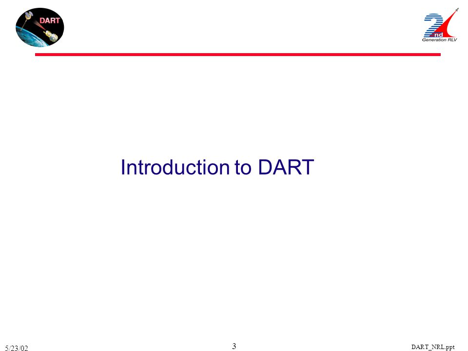 Introduction to DART 5/23/02 DART_NRL.ppt