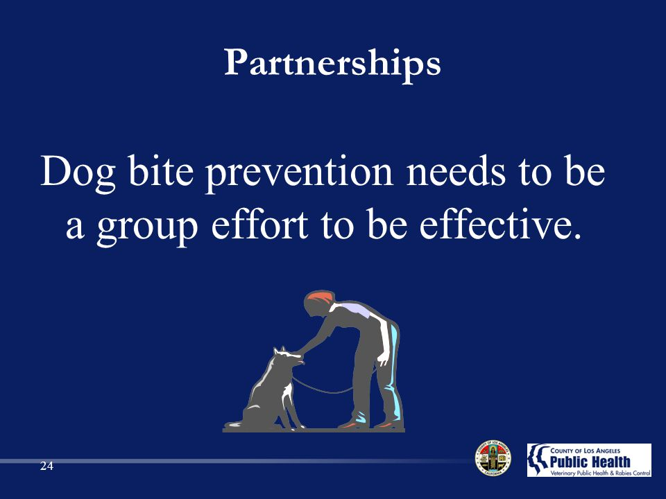 Dog bite prevention needs to be a group effort to be effective.