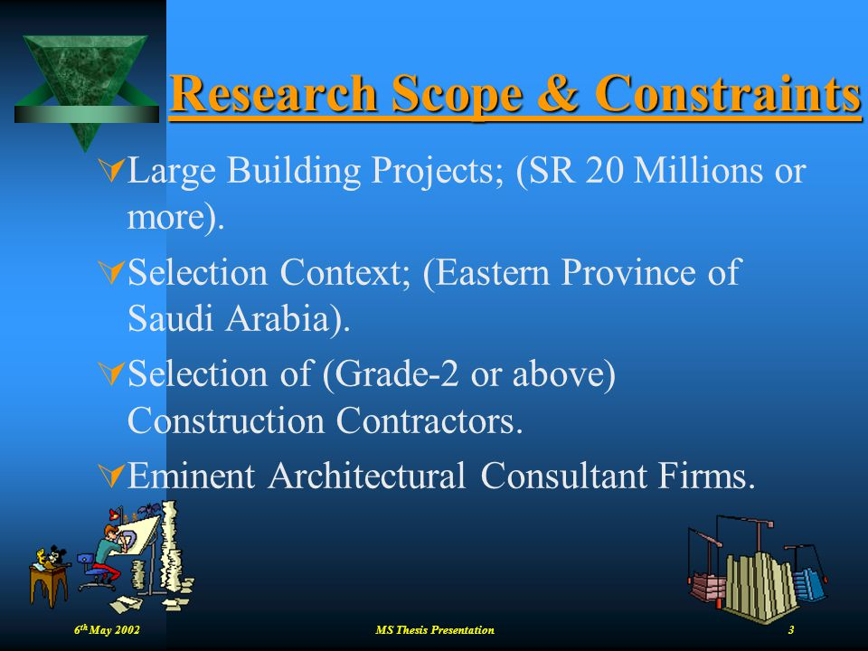 Research Scope & Constraints