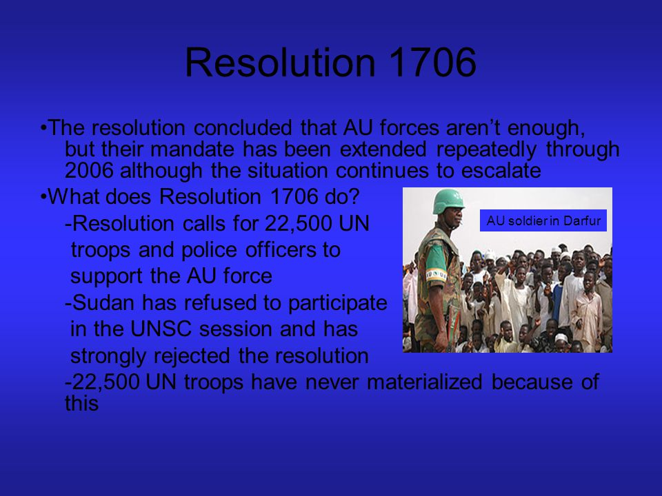 Resolution 1706