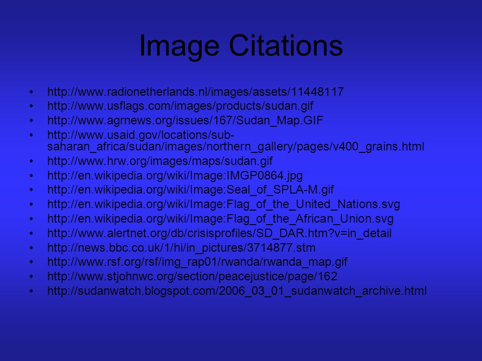 Image Citations http://www.radionetherlands.nl/images/assets/11448117