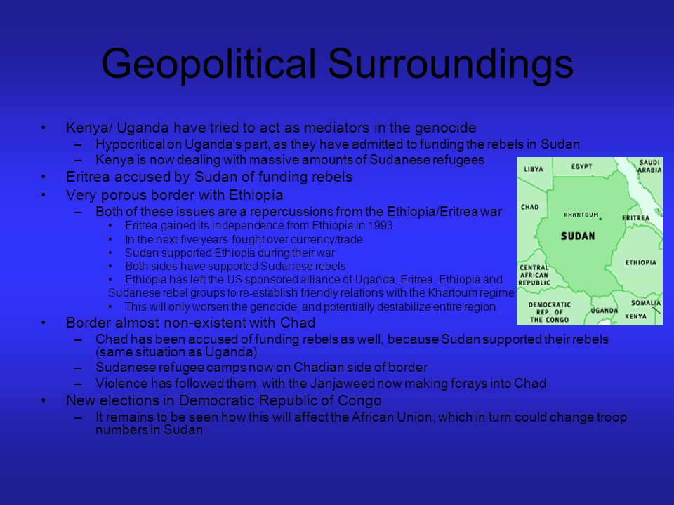 Geopolitical Surroundings