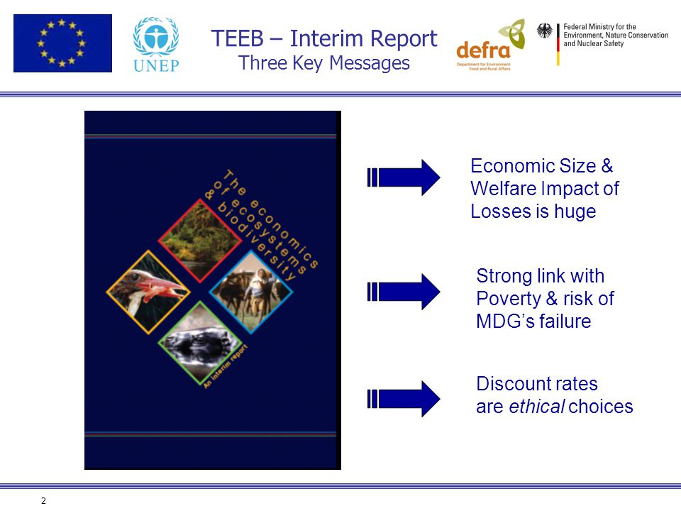TEEB – Interim Report Three Key Messages