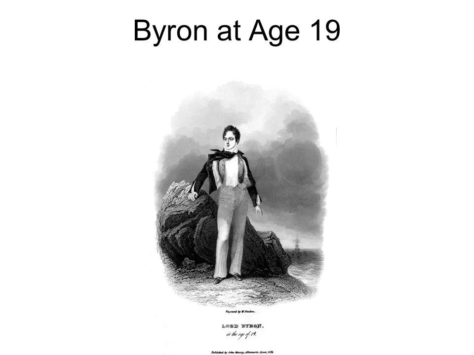 Byron at Age 19