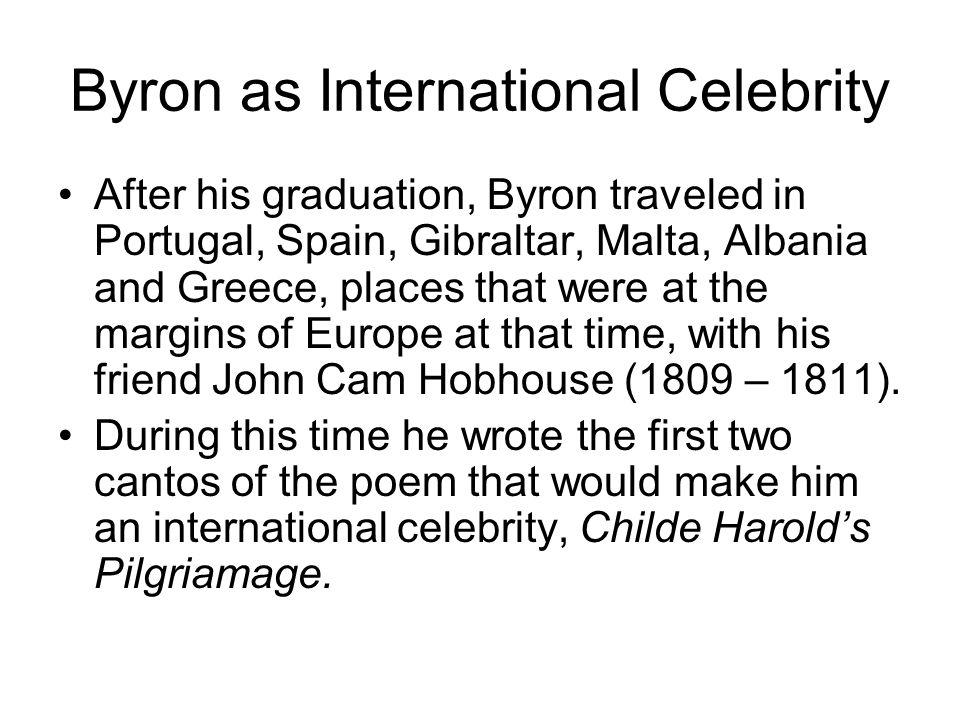 Byron as International Celebrity