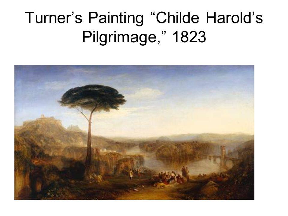 Turner's Painting Childe Harold's Pilgrimage, 1823