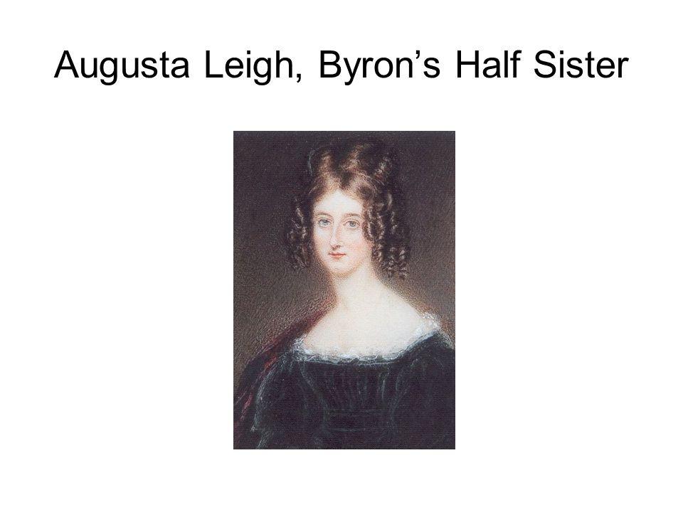 Augusta Leigh, Byron's Half Sister