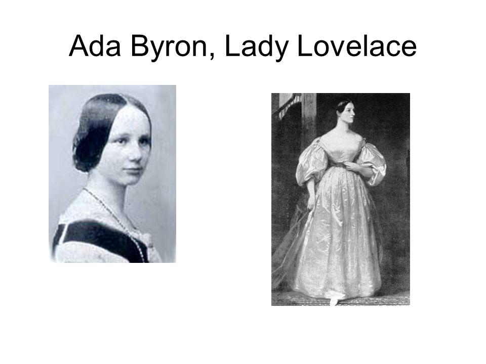 Ada Byron, Lady Lovelace
