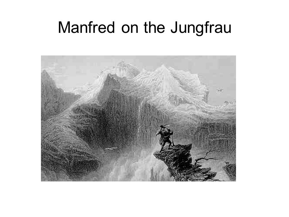 Manfred on the Jungfrau