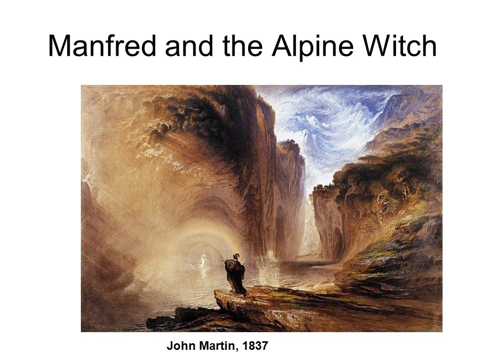 Manfred and the Alpine Witch