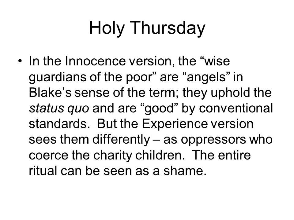 Holy Thursday