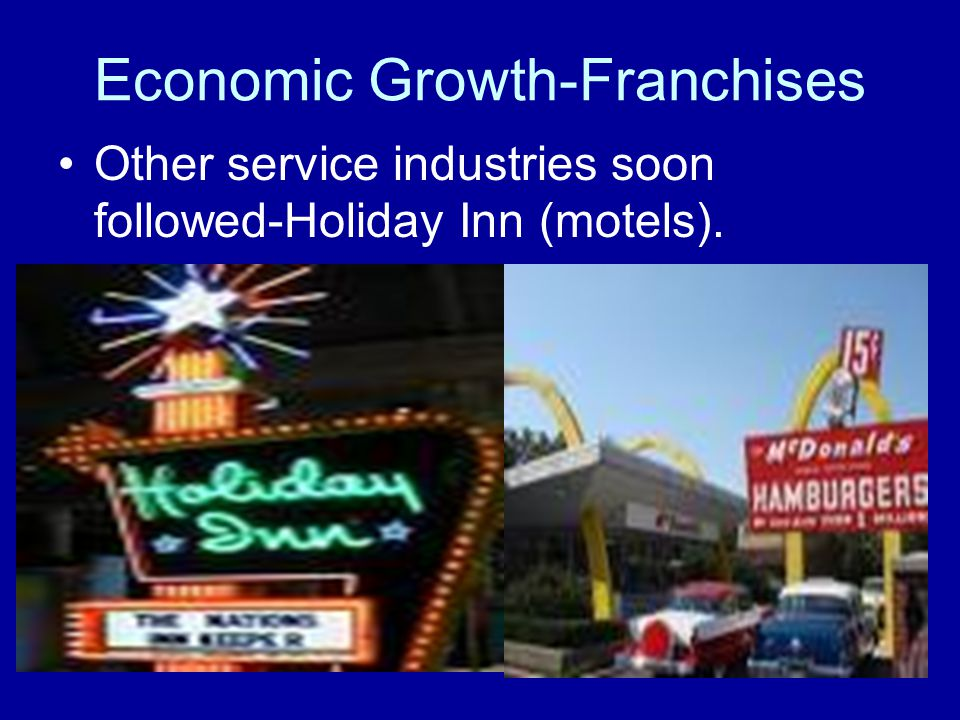 Economic Growth-Franchises