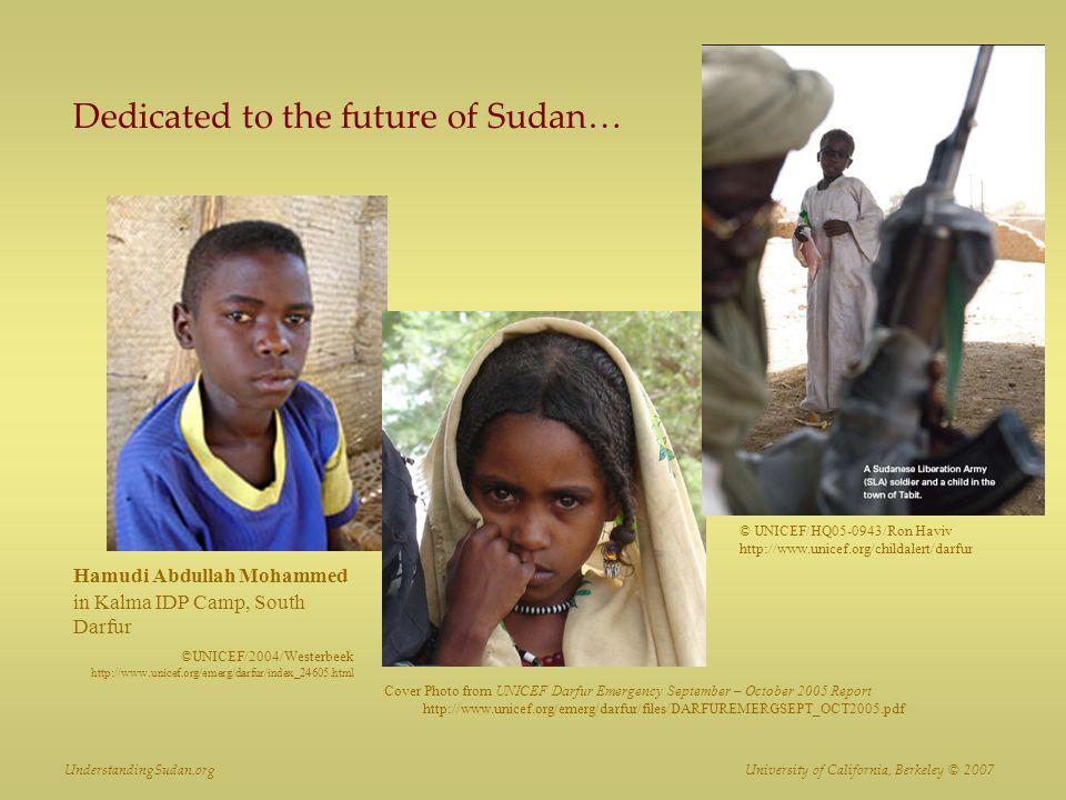 Dedicated to the future of Sudan…