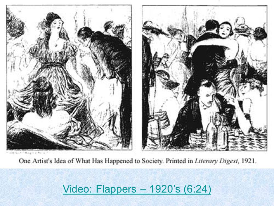 Video: Flappers – 1920's (6:24)