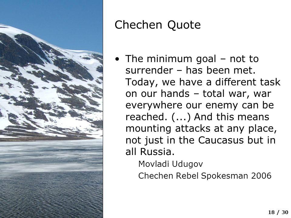 Chechen Quote