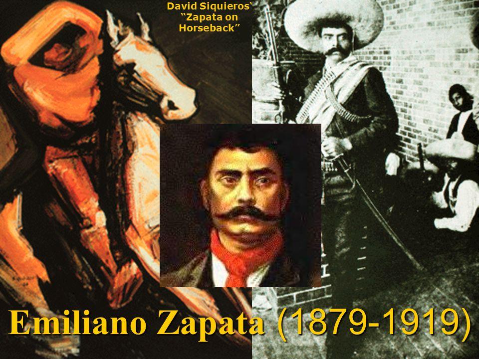 David Siquieros' Zapata on Horseback