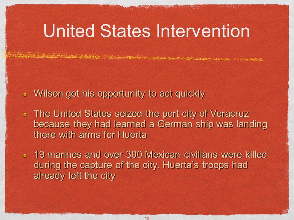 United States Intervention