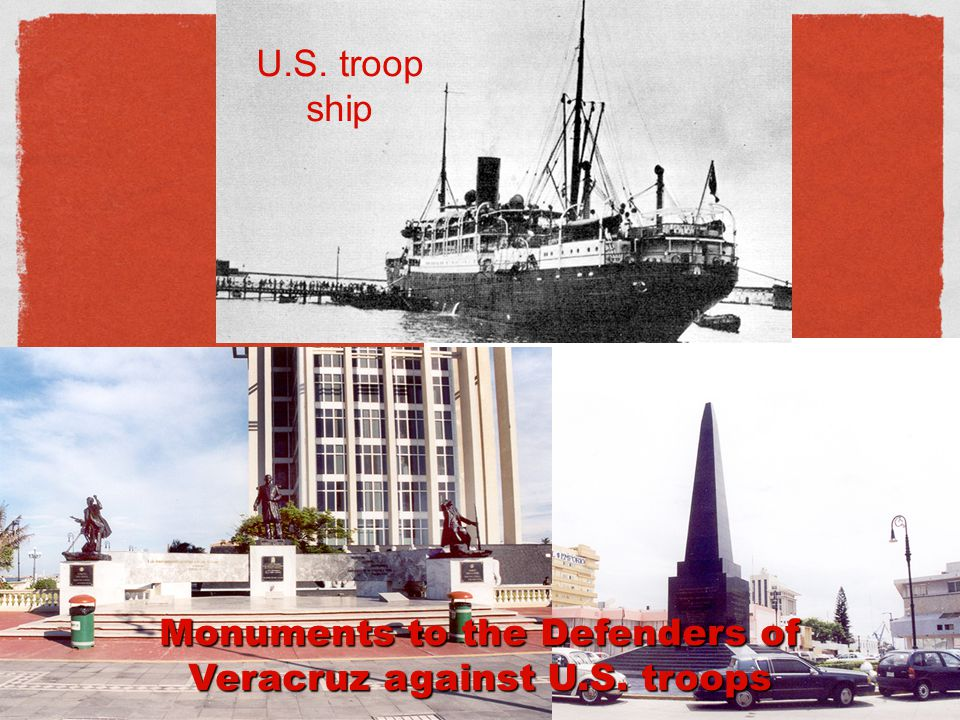 Monuments to the Defenders of Veracruz against U.S. troops