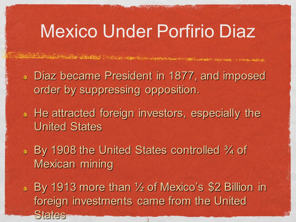 Mexico Under Porfirio Diaz