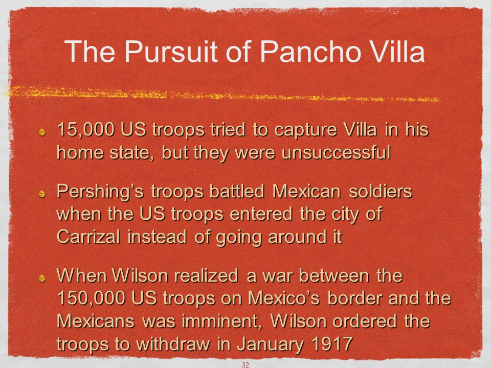 The Pursuit of Pancho Villa