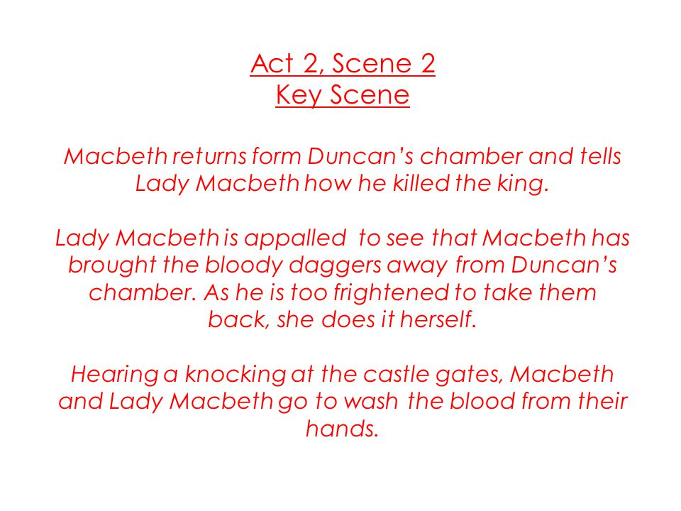 directors notes on macbeth: act 5, scene 1 essay Act 5, scene 1 at the scottish royal home of dunsinane, a gentlewoman has summoned a doctor to observe lady macbeth's sleepwalking the doctor reports that he has watched her for two nights now and has yet to see anything strange.