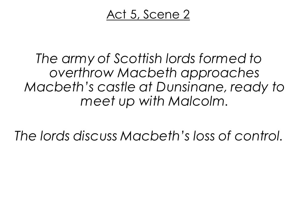 52 Act. Macbeth William Shakespeare    ppt video online download