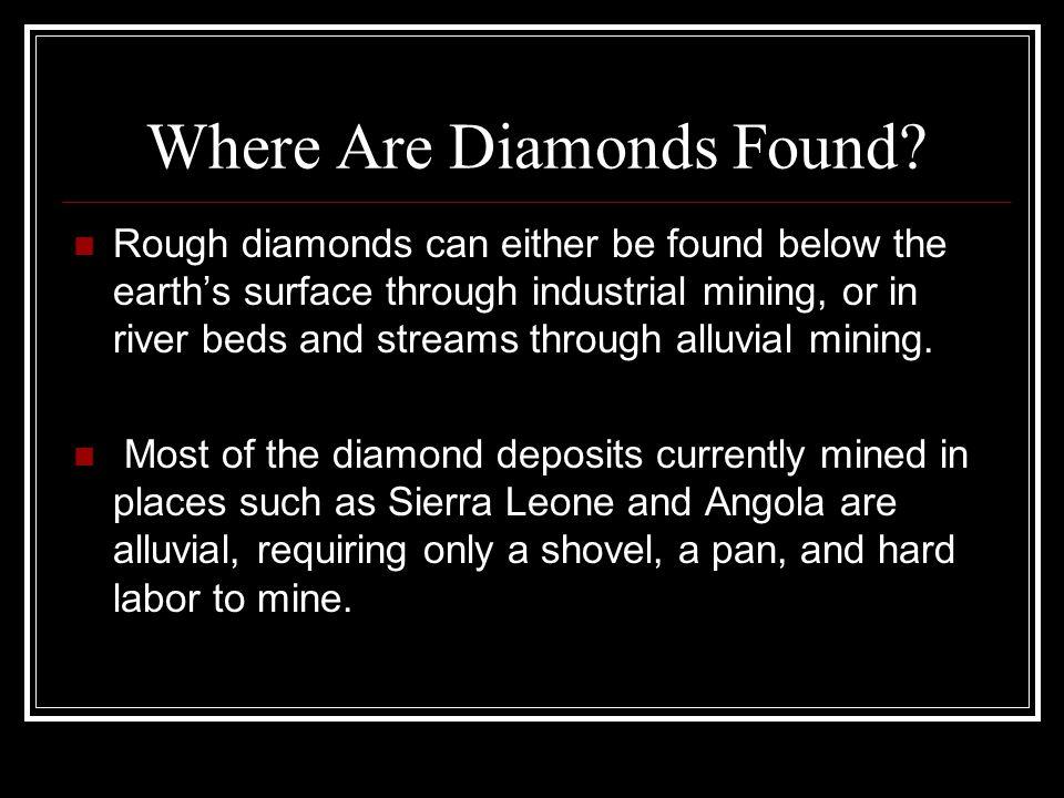 Where Are Diamonds Found