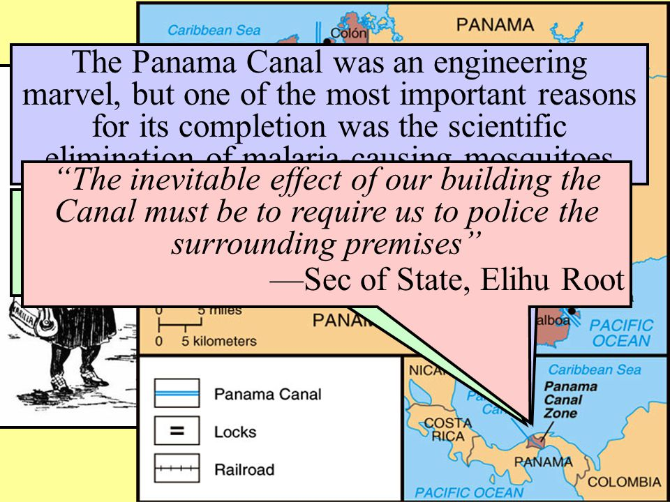 The Panama Canal was an engineering marvel, but one of the most important reasons for its completion was the scientific elimination of malaria-causing mosquitoes